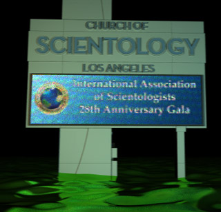 scientology sign 28th aniversary ias river of vomit