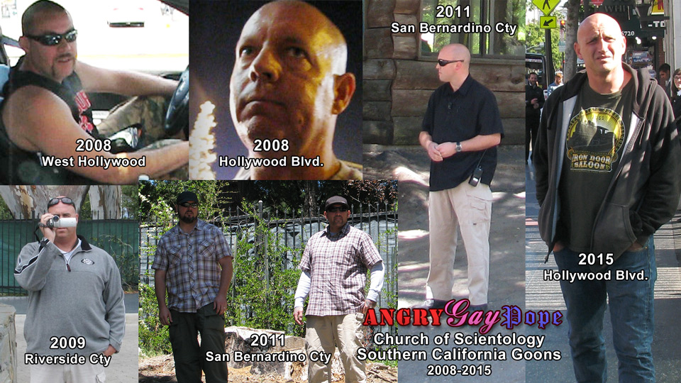 scientology goons and thugs southern california 2008-2015