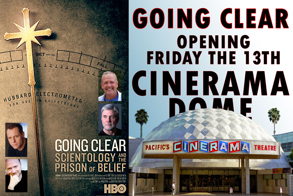 cinerama dome going clear