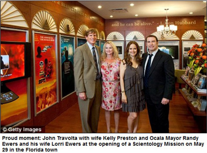 john travolta kelly preston mission opening