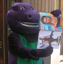 Barney the dinosaur gay